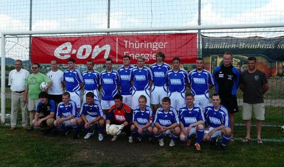 Mannschaft letzter Spieltag Saison 2007/2008, Staffelsieger und Aufsteiger in die 1. Kreisklasse