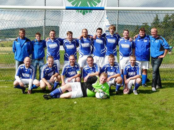 Mannschaft am 14. Juli 2012