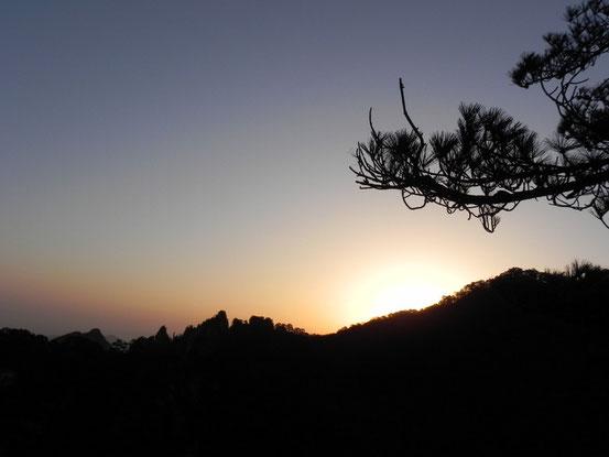 翌朝は日の出が見れるということで朝からポイント地点へ。 でも正直日の出はサンセットほどの感動はなかったですね。