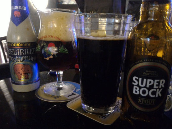 普段飲まないビールを片っ端から飲みます。