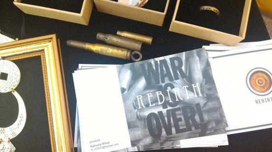 WAR IS OVERの「REBIRTH」というブランドです。