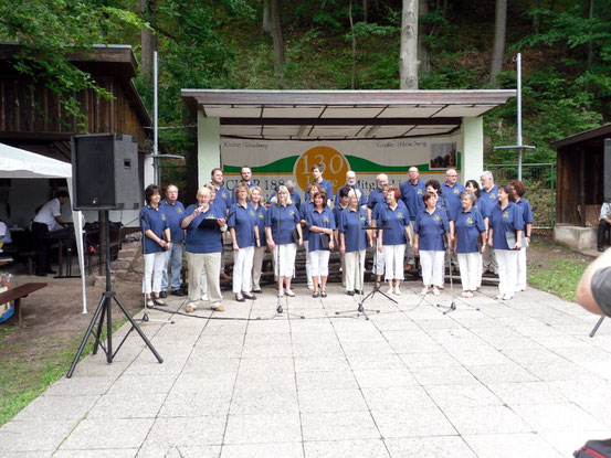 2012- Sängerfest in Deubach / Quelle: H.u.L.Harms
