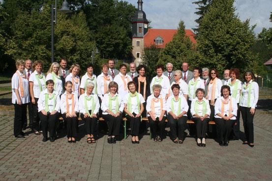 2009- Fotosession zum 40-jährigen Chorjubiläum