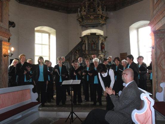 2011- Benefizkonzert zugunsten der Orgelsanierung in Seebach / Quelle: H.u.L.Harms