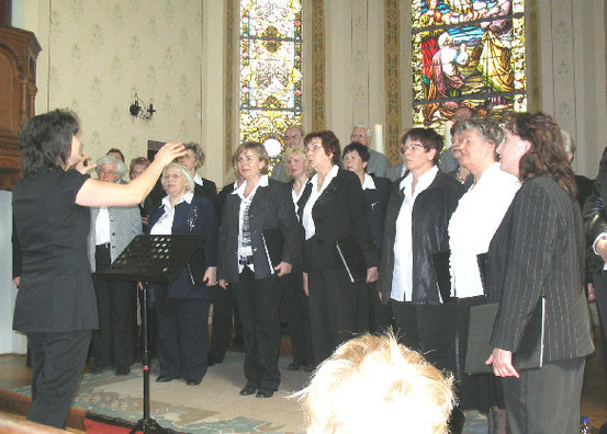 2010- Pfingstkonzert in der Lutherkirche zu Kälberfeld / Quelle: H.u.L.Harms