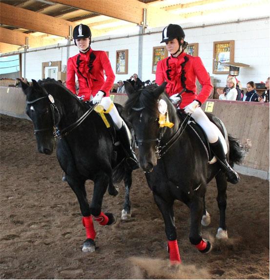 Im Gleichschritt zum Sieg: Sabrina und Corinna Wiegmann