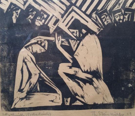 Theodor Steinkühler: Christus und die Sünderin, Weimar 1919
