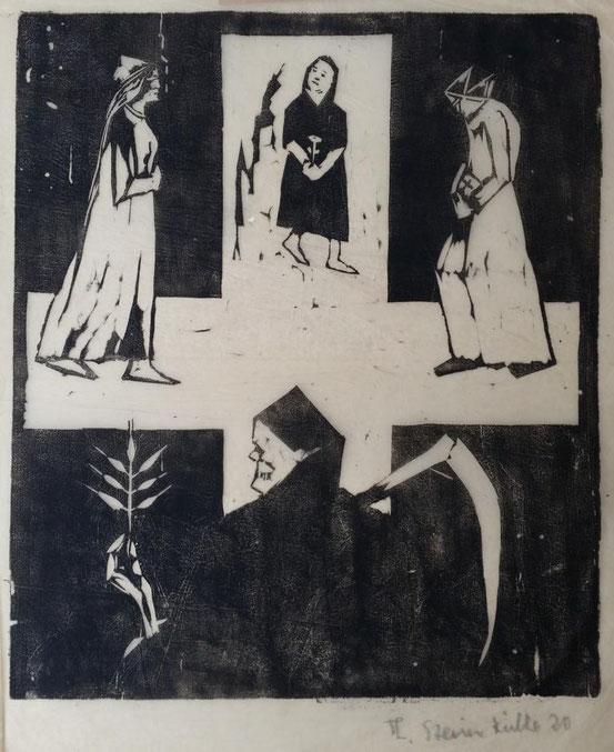 Theodor Steinkühler: Die drei Lebensalter, Bielefeld 1920
