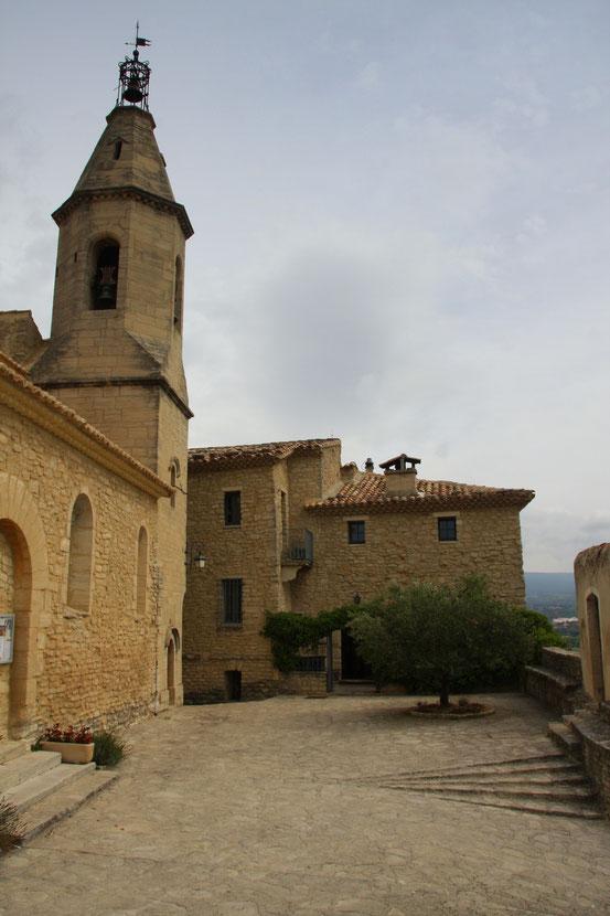 Bild: Kirche in Crillon-le-Brave