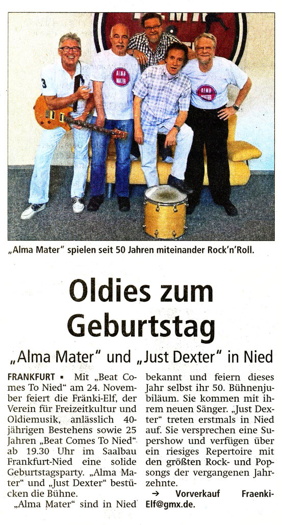 Offenbach Post, 26. Oktober 2018