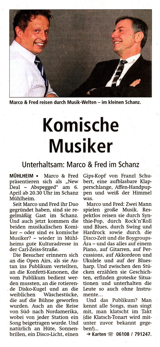 Offenbach Post, 31. März 2018