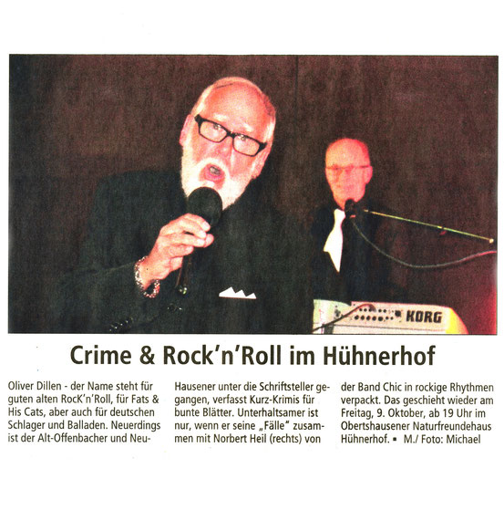 Offenbach Post, 28. September 2015