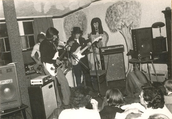 Auftriit im Musik-Club Schlachthof (1975)