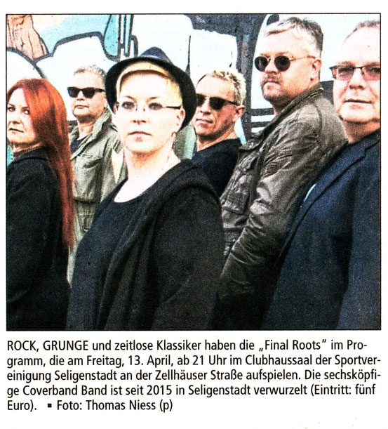 Offenbach Post, 7. April 2018