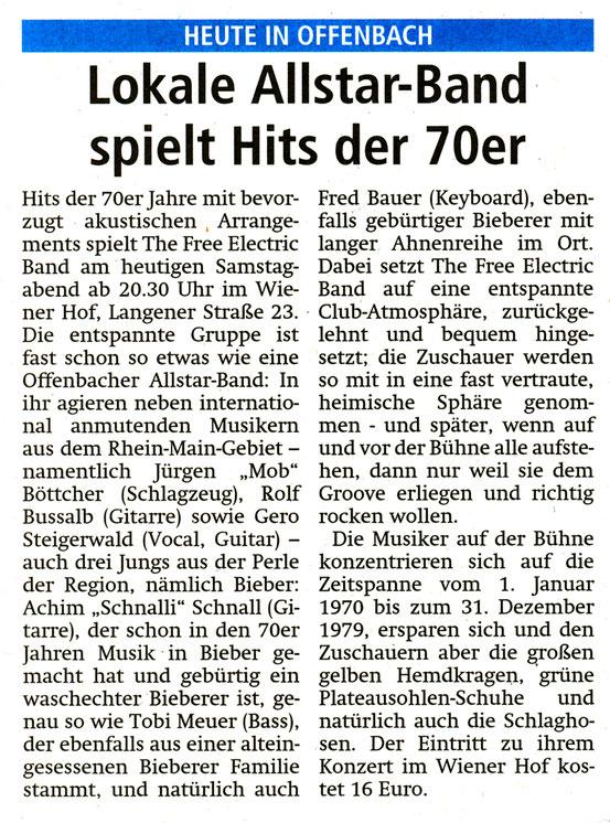 Offenbach Post, 21. Oktober 2017