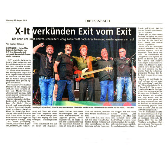 Offenbach Post, 23. August 2016