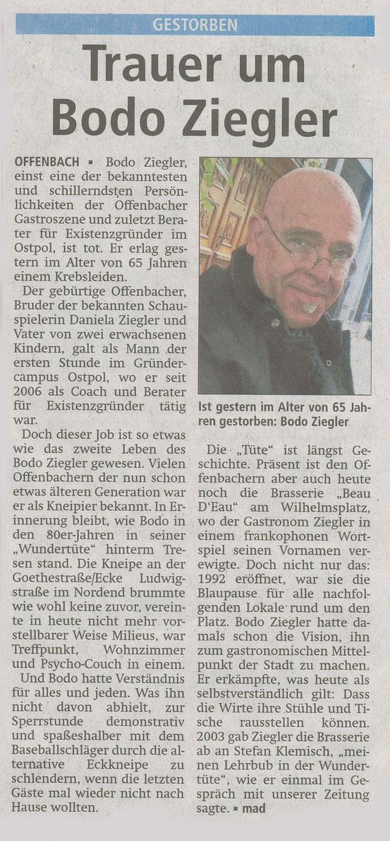Offenbach Post,22.Februar 2017