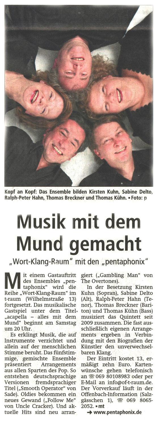 Offenbach Post, 7. Februar 2014