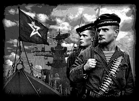 Для памятника моряку.