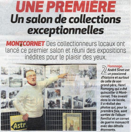 """Extrait du journal """"La Thiérache"""" 24.01.2019"""