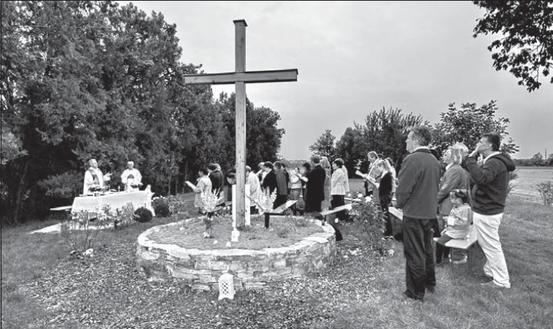 Gebetsgarten Stammersdorf (Screen-Shot aus der Monatszeitschrift der Jüngergemeinschaft) (11/2009)