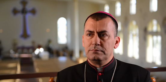 Chaldäisch-katholischer Erzbischof Amel Shimon Nona, Mossul, Irak