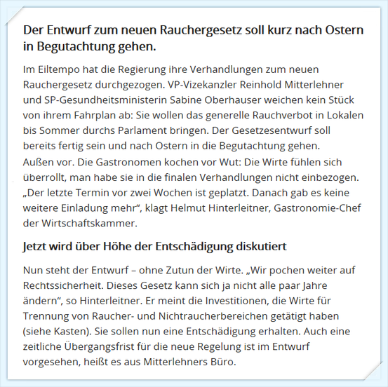 Online-Artikel in OE24 vom 02.04.2015 (Print-Screen)