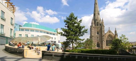 Stadtansicht von Birmingham