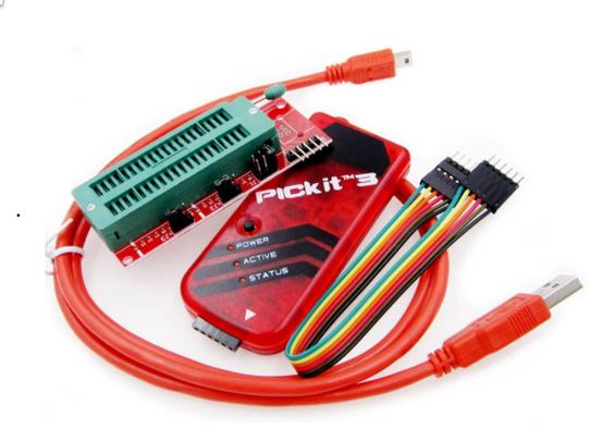 quemadora programadora grabadora grabador programador pic pics microcontroladores pickit3 guatemala electronica electronico