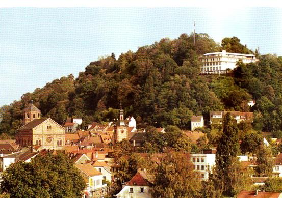 Homburg - Saar - Blick zum Schlossberg