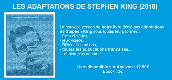 Sortie Livre : Les Adaptations de Stephen King !
