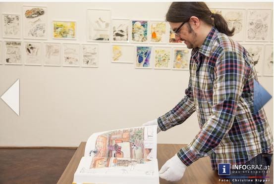 im Rahmen der Ausstellung FUR FUR AWAY wurde im Mai 2014 die graphic novel MEOUMAN in Form eines 440 Seiten Künstlerbuchs präsentiert.