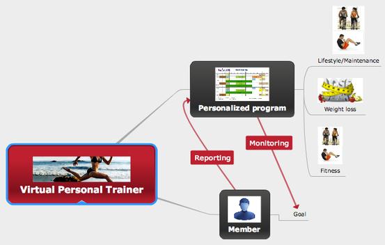 fitness wellness methodology, fitness wellness flow diagram, online methodology, online coaching, online training method