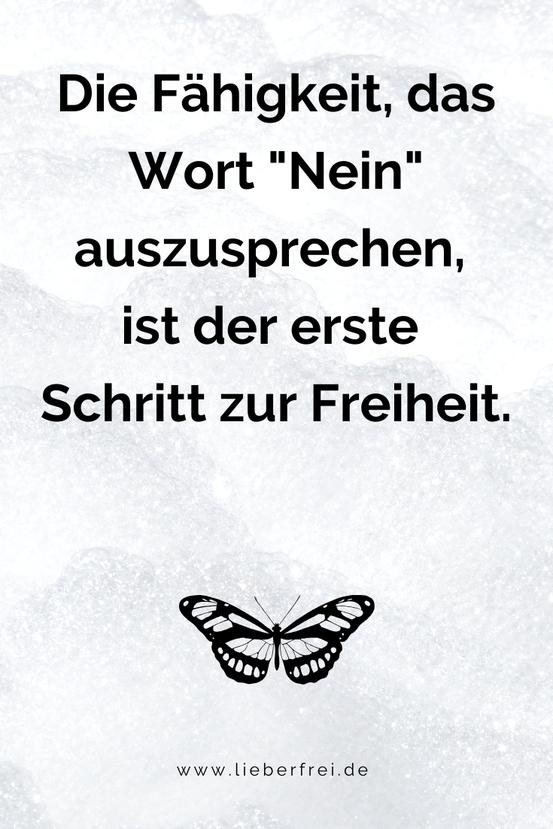 Zitat Freiheit Nicolas Chamfort Sprüche Sprichworte frei Selbstbestimmung Nein sagen #lieberfrei