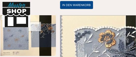 Edle Stickerei, Broderies für Wäscheunternehmen. Stickereien für die Weiterverarbeitung in den Bereichen DOB und Dessous