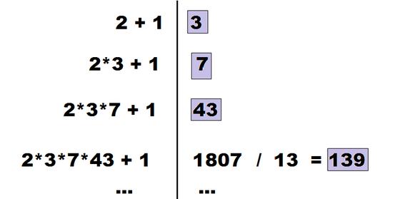 (Primzahlen sind violett unterlegt)