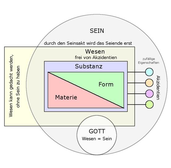 """""""Wesensmetaphysik"""" bei Thomas von Aquin"""