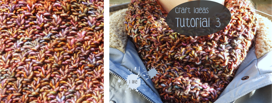 Craft Ideas Tutorial Wintercowl