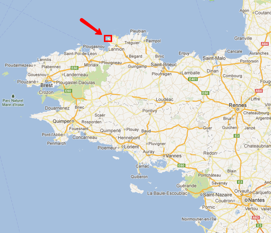 Ile Milliau en Bretagne