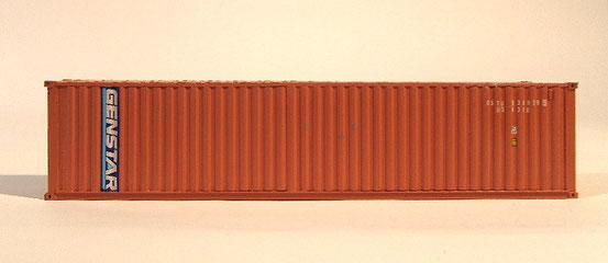 Das warb einer n meiner ersten 40' Container. Hier im Livree der Genstar Gesellschaft.