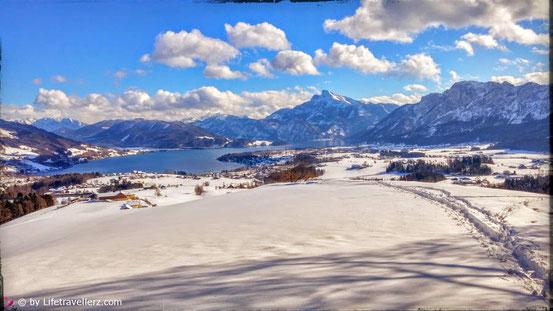 Winter - Schnee - Winterlandschaft - Mondsee - Mondseeland - Lifetravellerz