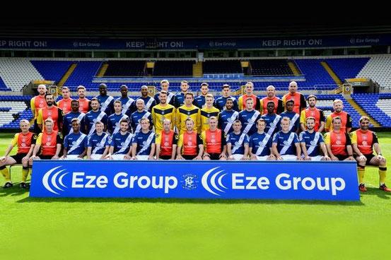 Mannschaftsfoto von Birmingham City Saison 2015/2016