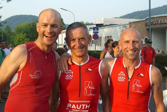 Thomas, Roland und Gerhard