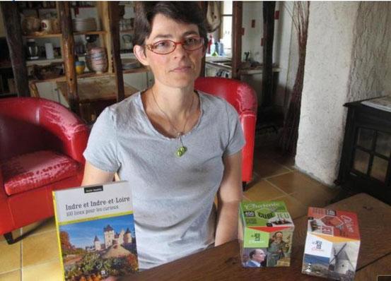 Adeline Pavageau publie son second guide touristique