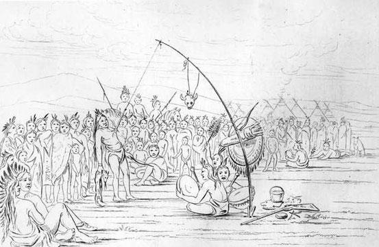 Wikipedia-Sundance,George Catlin 1851
