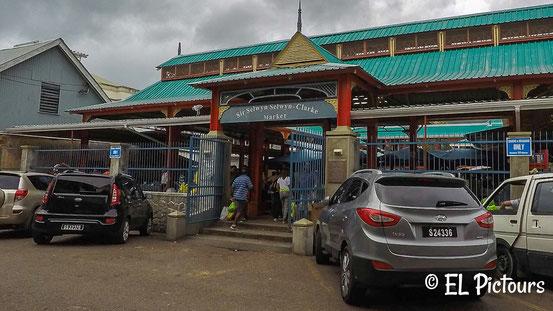 Sir Selwyn Selwyn Clarke Market, Victoria Mahe, Seychellen