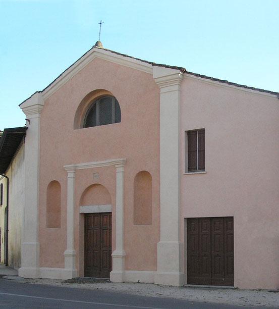 San Rocco, Facciata.