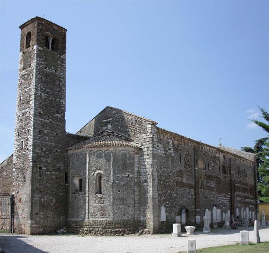 La Pieve, Veduta dell'abside.