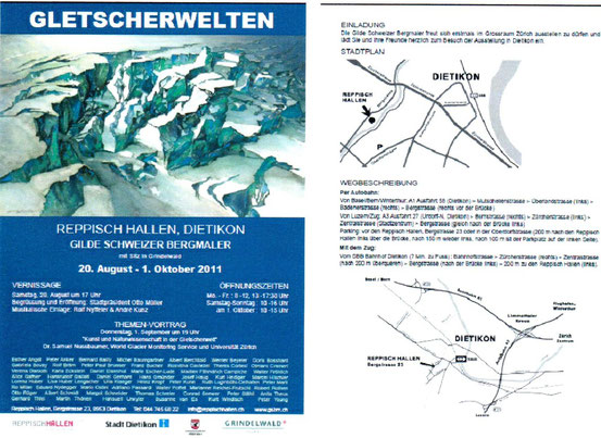 Ausstellung Gletscherwelten