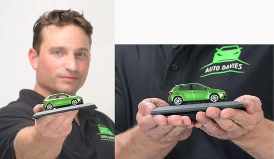 Autohaus Davies Werbekampagne